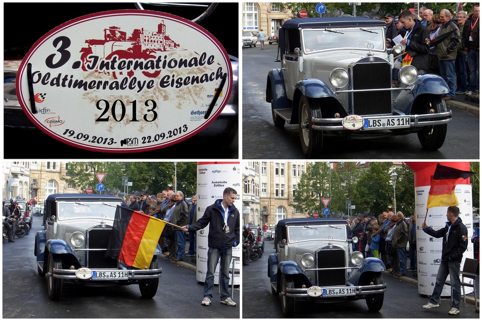 3. Oldtimer-Rallye 2013 in Eisenach