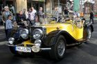 3. Oldtimer-Rallye 2013 in Eisenach - Jaguar
