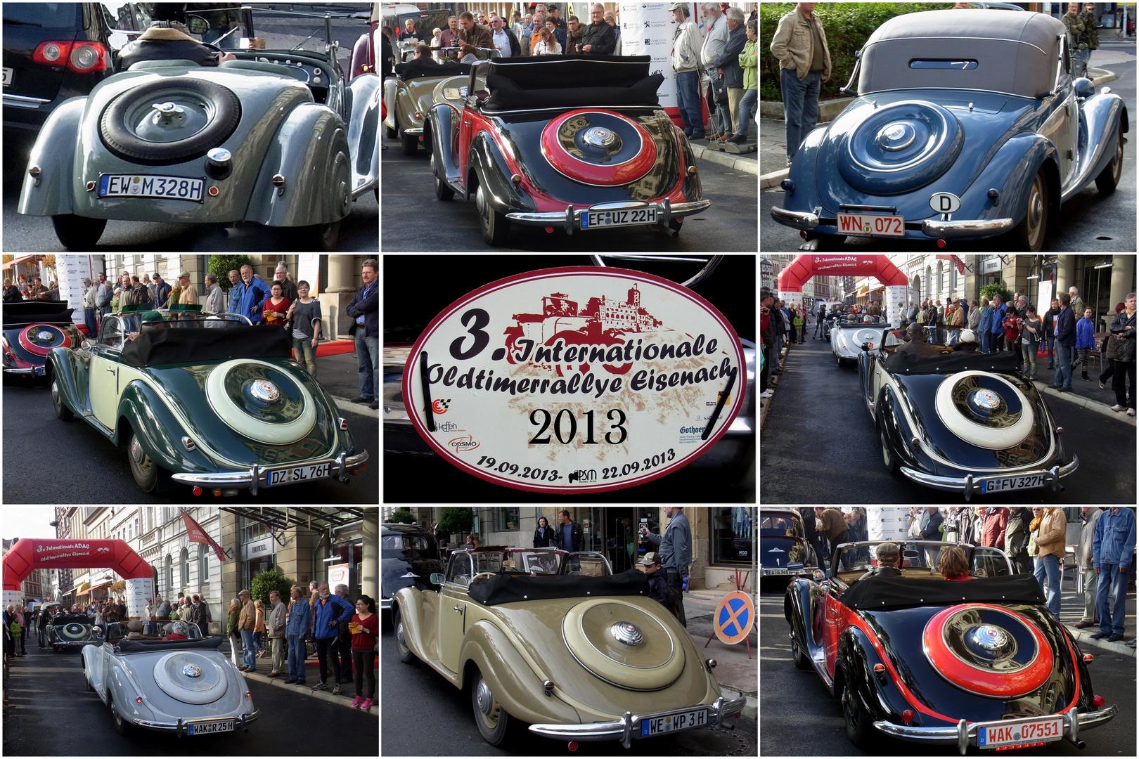 3. Oldtimer-Rallye in Eisenach 2013