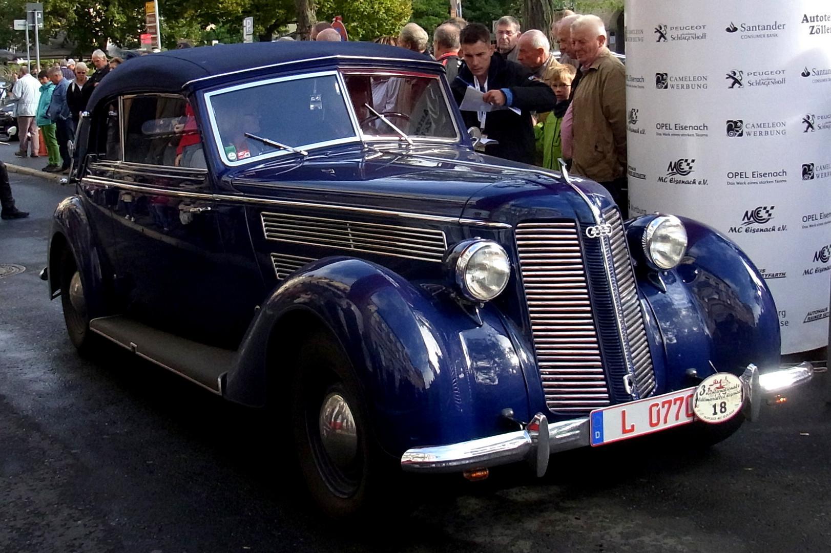 3. Oldtimer-Rallye in Eisenach 2013 - AutoUnion