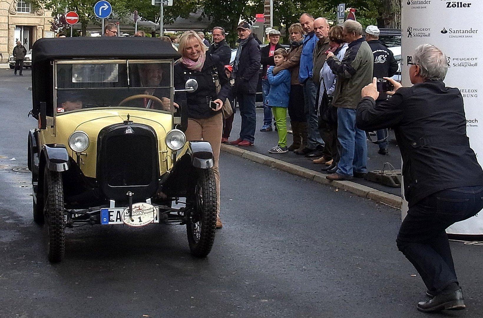 3. Oldtimer-Rallye in Eisenach 2013 - KULTDIXI
