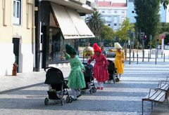 3 pazzi in giro x Lisbona
