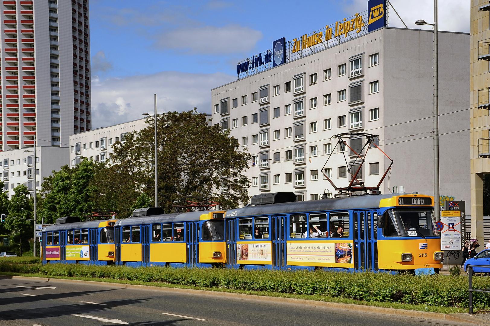 3-Triebwagen Tatra-Großzug  #2