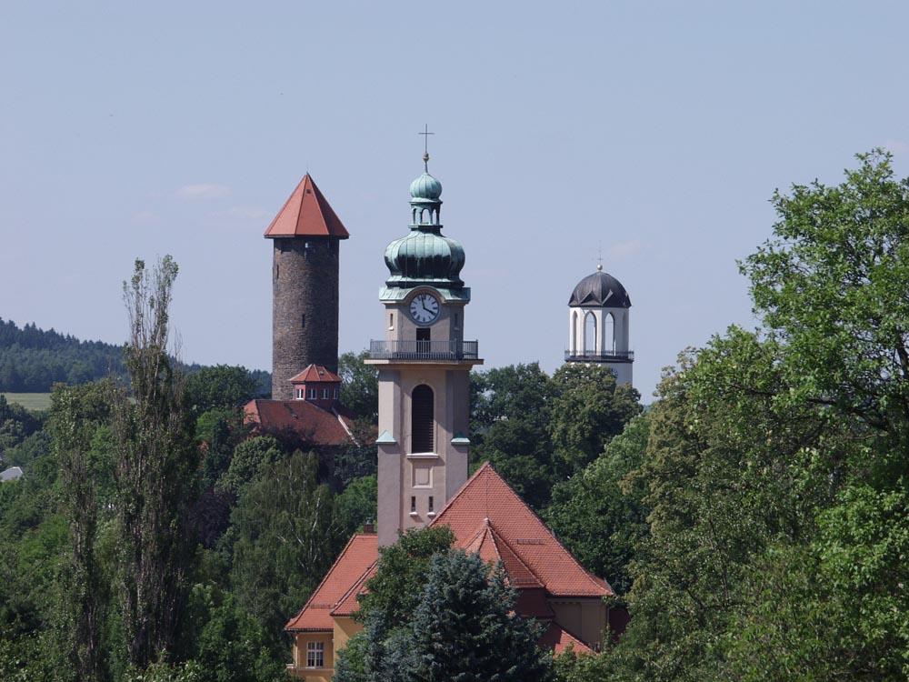 3-Türme Stadt Auerbach