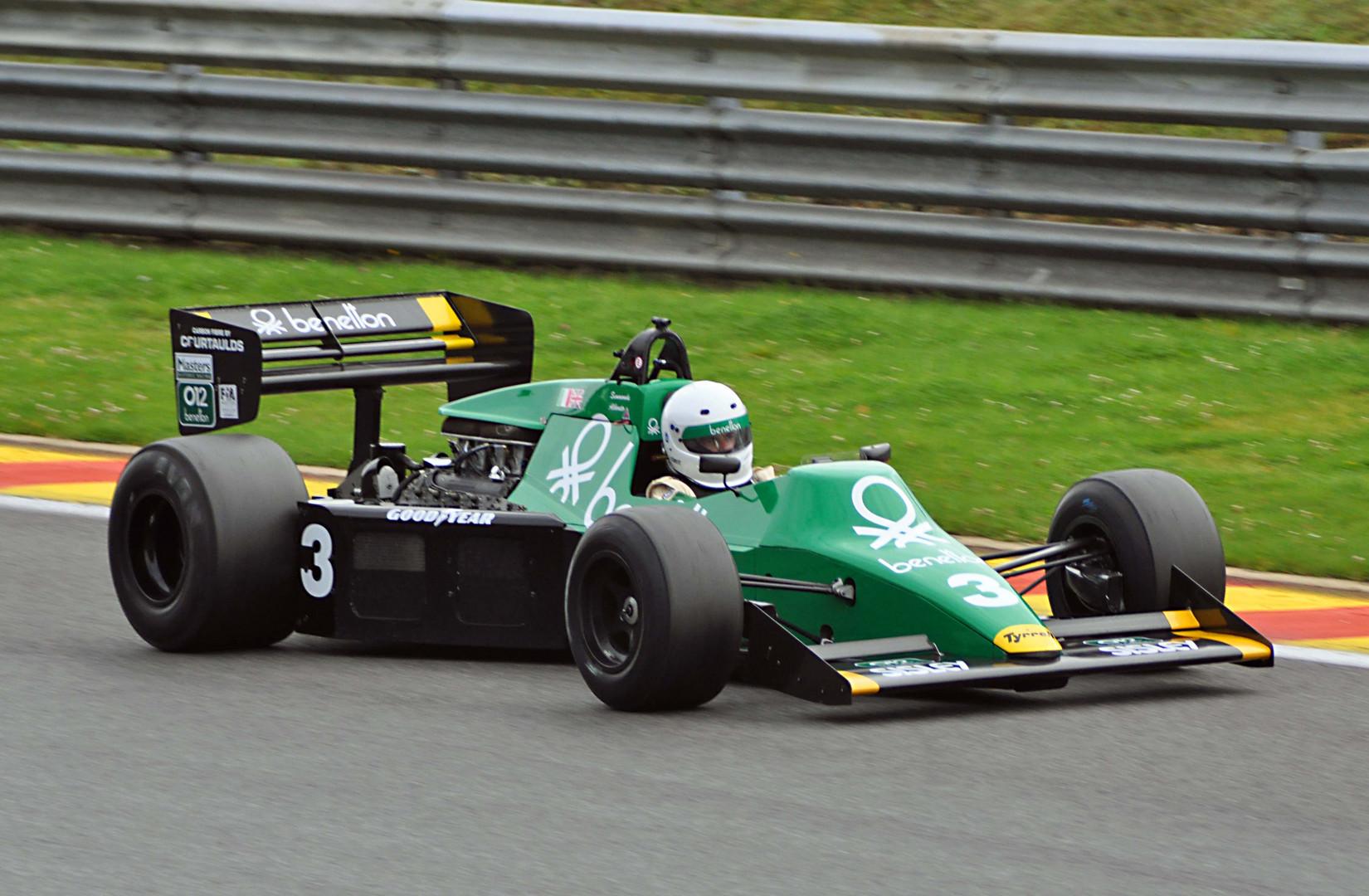 # 3 Tyrell 012 Bj.1983 (Ex Michele Alboreto)