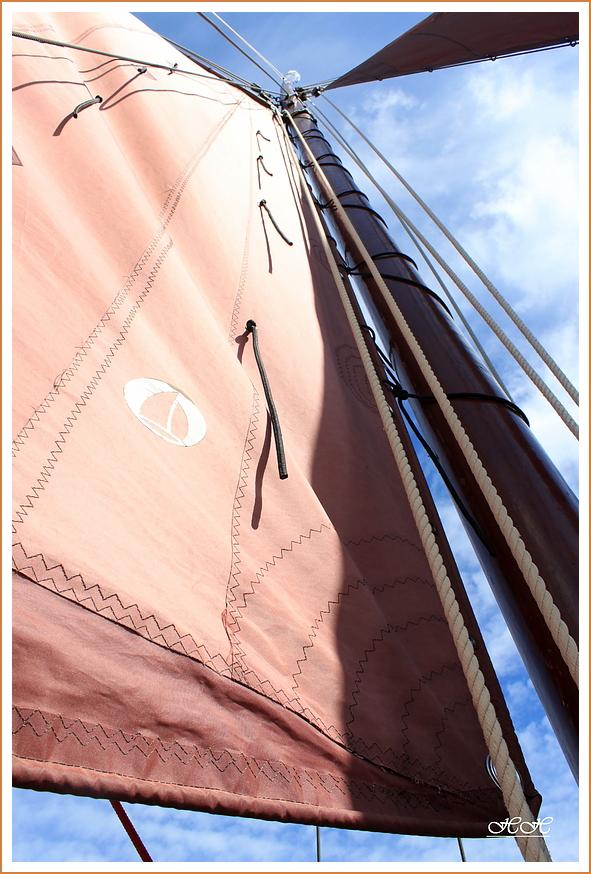 (3) Zeesbootsegel