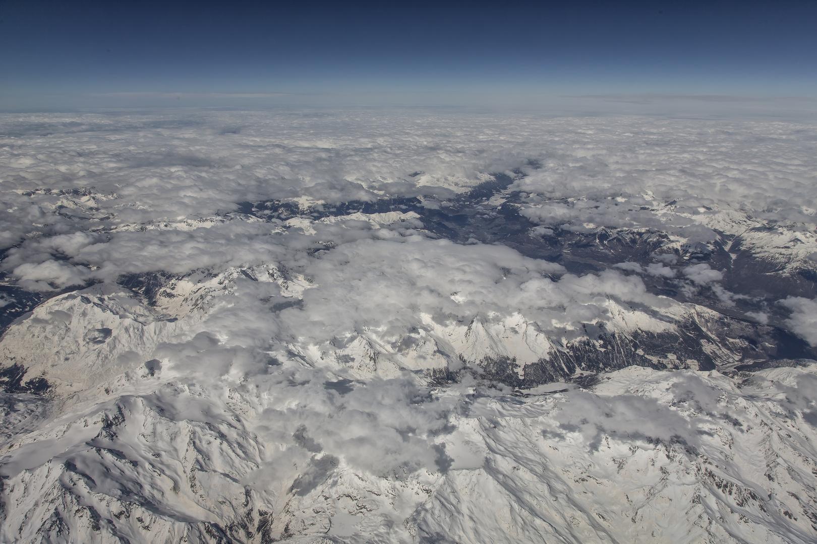 30.000 ft über der Erde