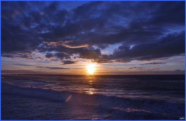 31 décembre, le soleil se couche