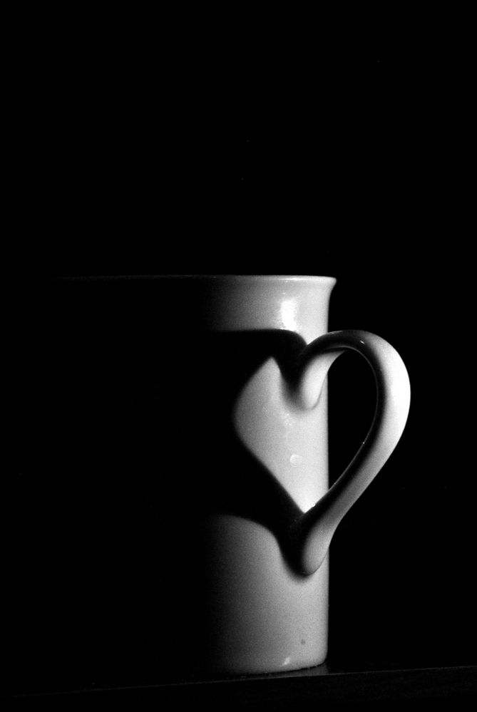 Coffee with heart by Subhransu