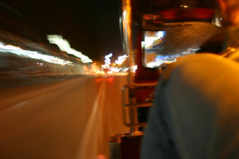 3,2 Sekunden Tuktuk