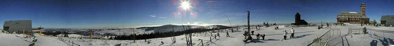 360° Fichtelberg im Winter