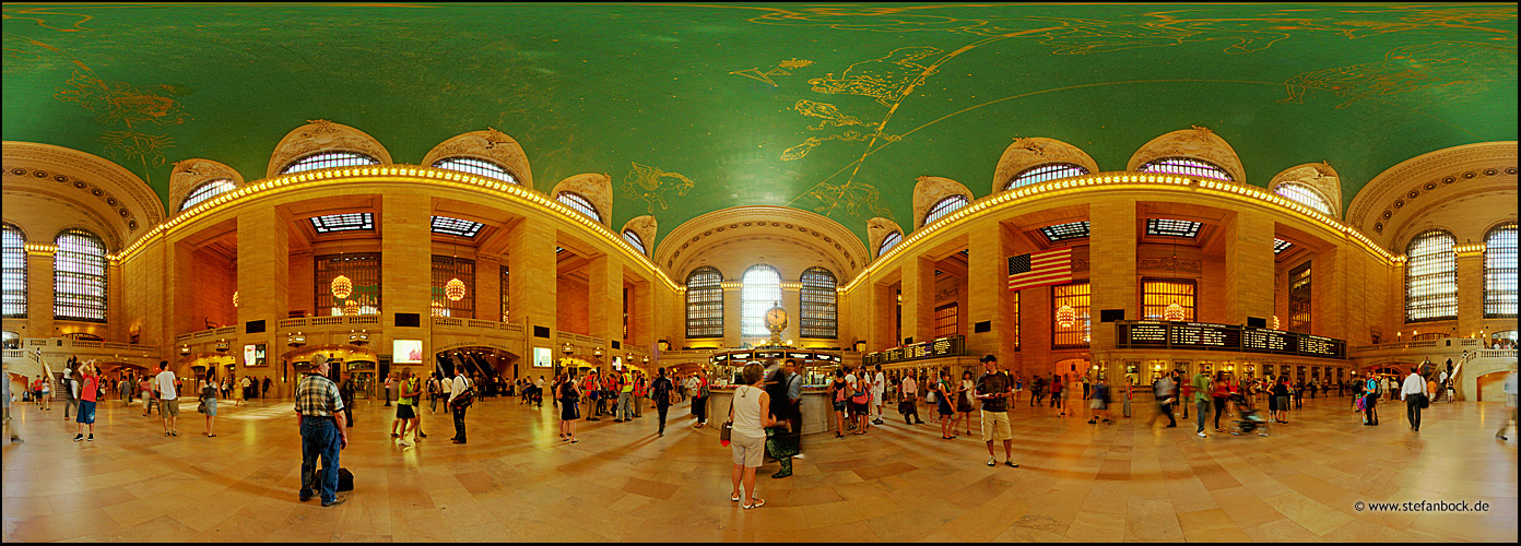 360° Grand Central Terminal, New York City Serie IX