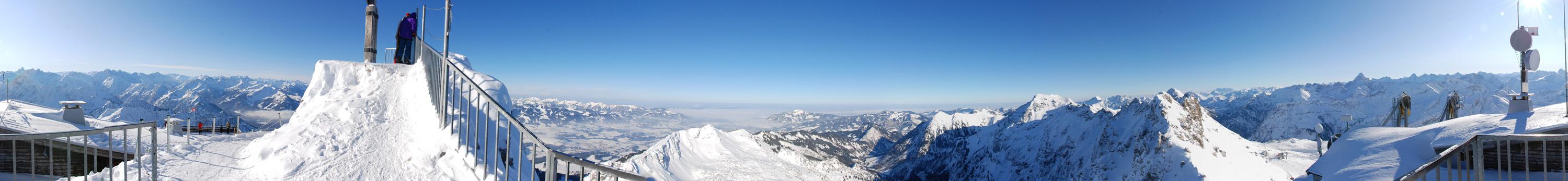 360° Panorama Nebelhorn (3000 Pixel breit)