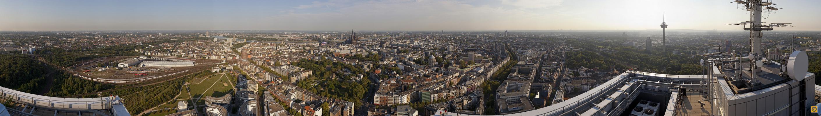 360-up.com | Gigapixel-Panorama Köln