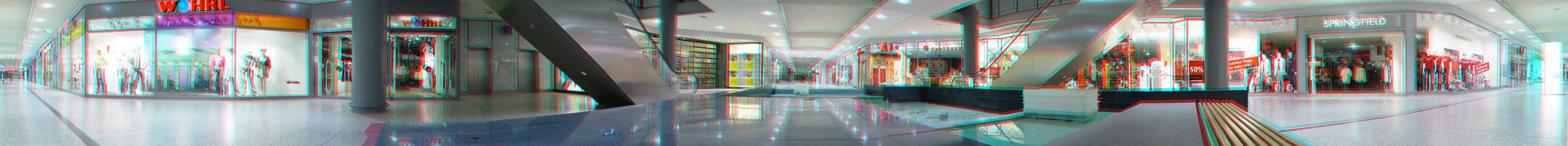 360°Stereo-Panorama (Anaglyphe aus 24 Fotos)