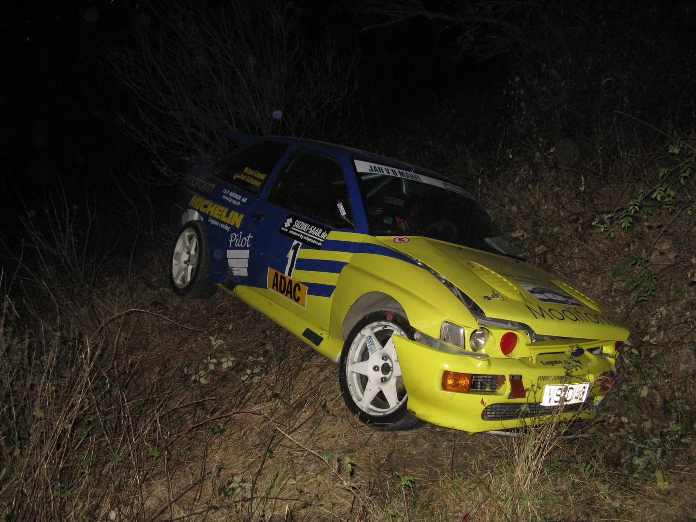 37. ADAC Rallye Potzberg 2009 Escort Crash