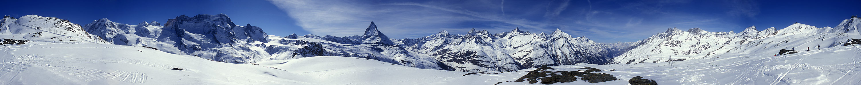 375° - Die Berge rund um Zermatt