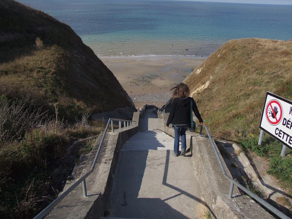 385 Stufen bis zum Meer