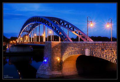 die Sternbrücke Magdeburg