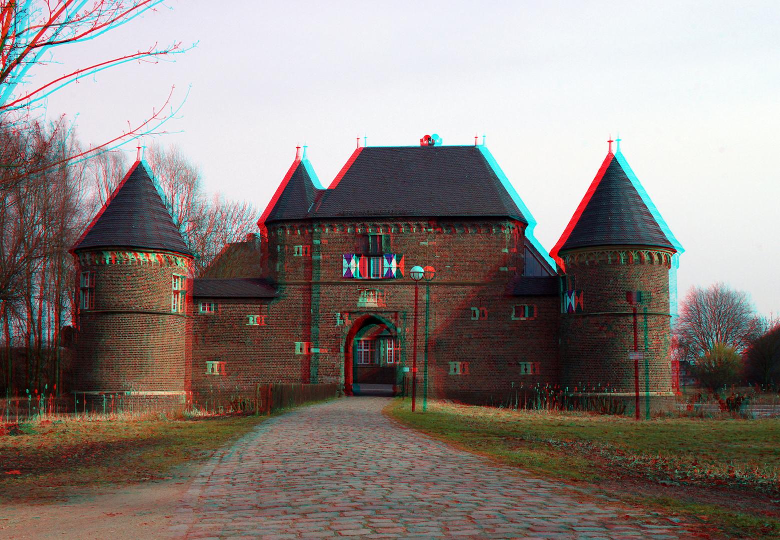 3D Burg Vondern ...