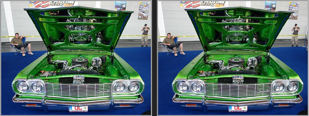 3D Chevrolet - oder: Die tiefe Motorhaube