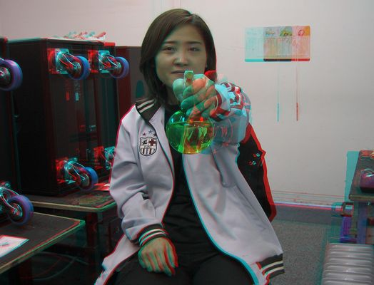 3D Ding (Anaglyphe Rot/Cyan)