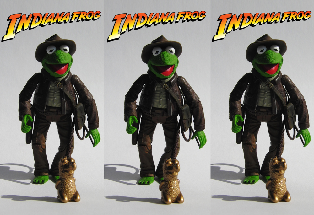 3D: Indiana Frog