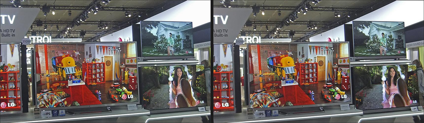 3D TVs X