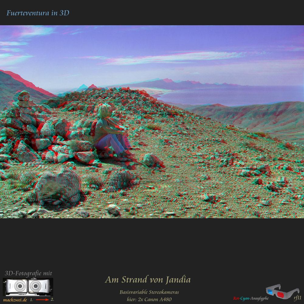 3D Wandern im Winter: Gipfelrast auf Fuerteventura