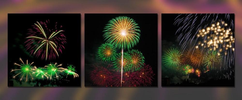 3er Serie Feuerwerk