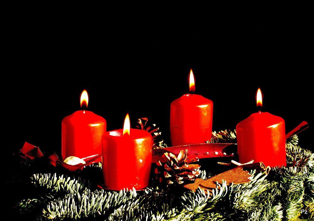4 advent heute abend ist es so weit foto bild. Black Bedroom Furniture Sets. Home Design Ideas