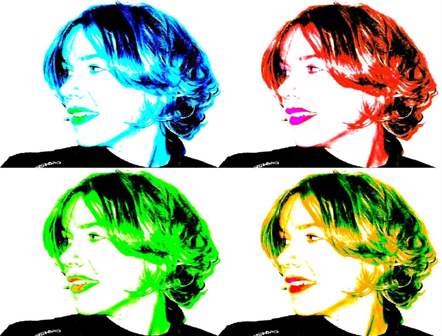 4 Gesichter