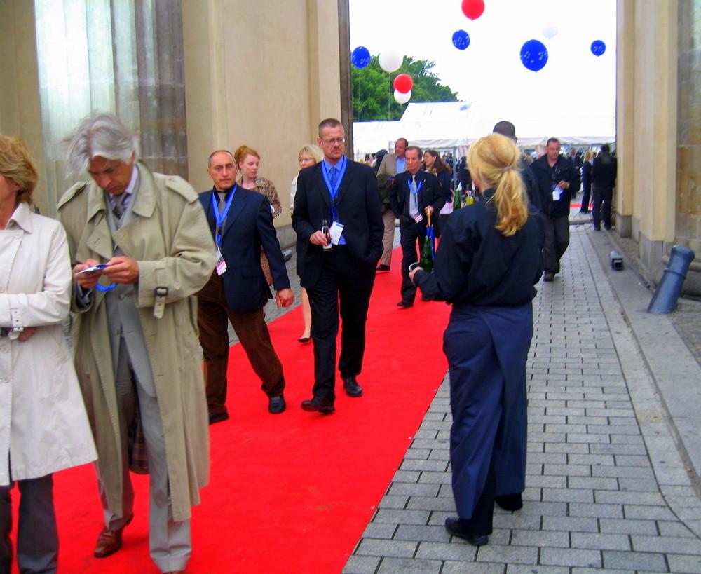 4. Juli 2008   Brandenburger Tor