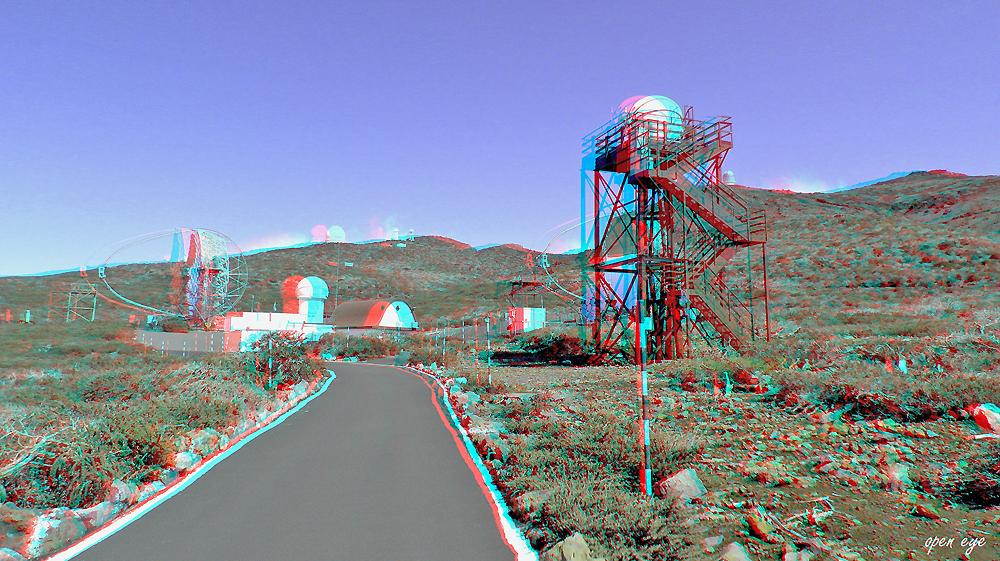 4 ._ La Palma _ Spiegelteleskop MAGIC IACT _
