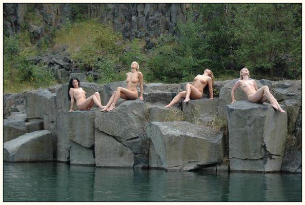 4 Meerjungfrauen