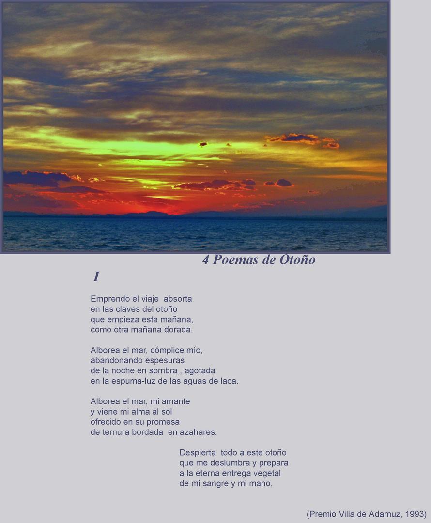 4 Poemas de Otoño. I