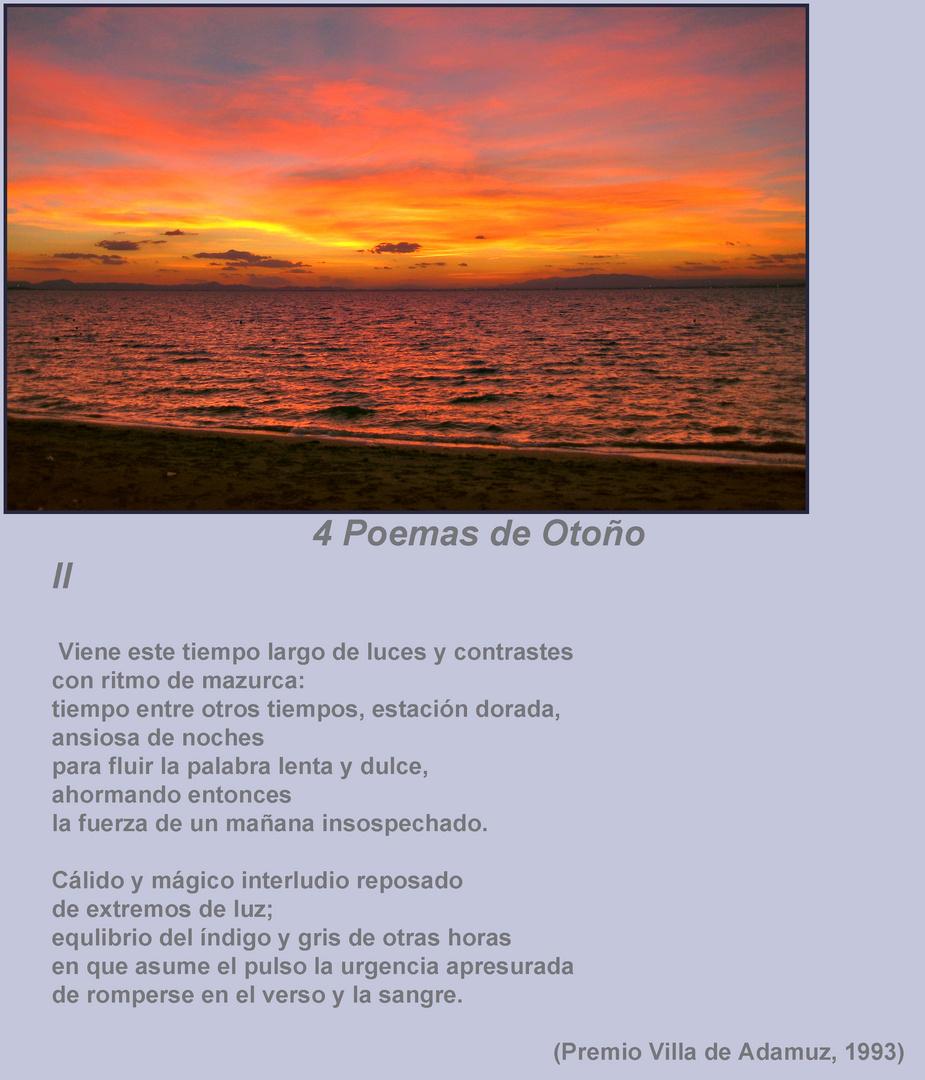 4 Poemas de Otoño .II