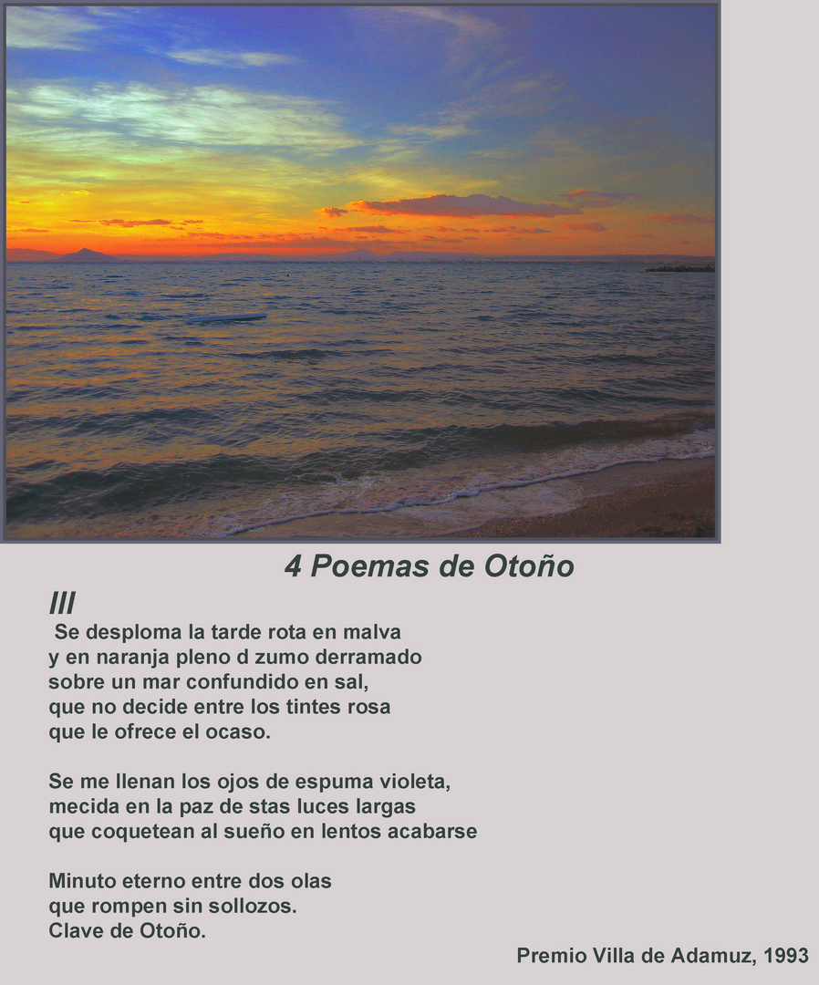 4 Poemas de Otoño III