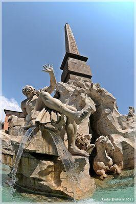4 Ströme - durch das FischAuge des Betrachters - Roma - (31/2011)