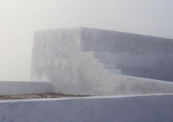 4 Stufen am Ende der Welt