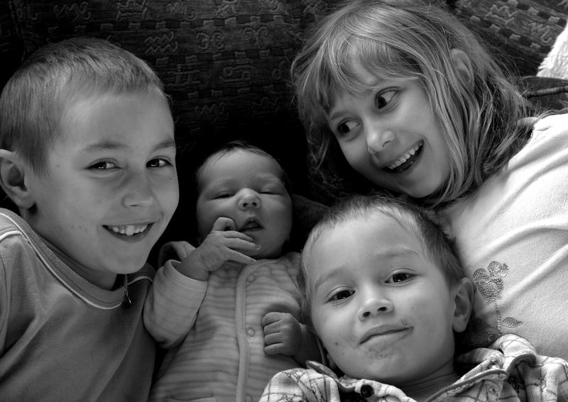 4 wild kids
