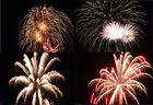 4 x Libori Feuerwerk