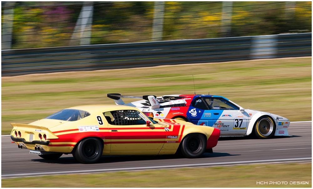 40. AvD OGP / Chevrolet Camaro & BMW M1