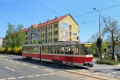 40 Jahre Tatra Straßenbahn in Plauen