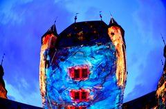 400 Jahre Schloss Aschaffenburg zur blauen Stunde