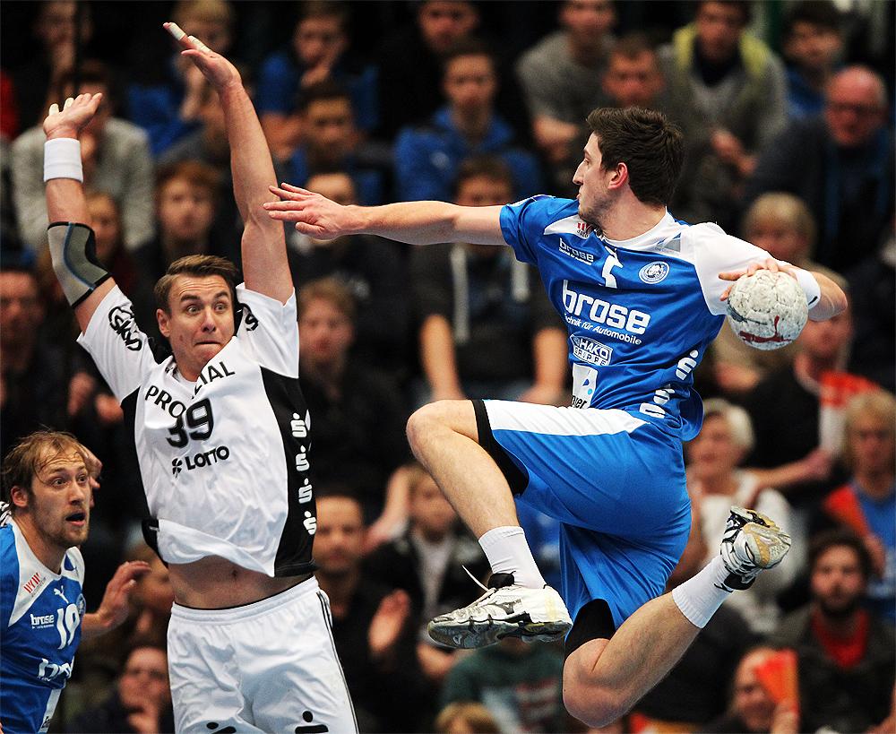 400mm beim Handball