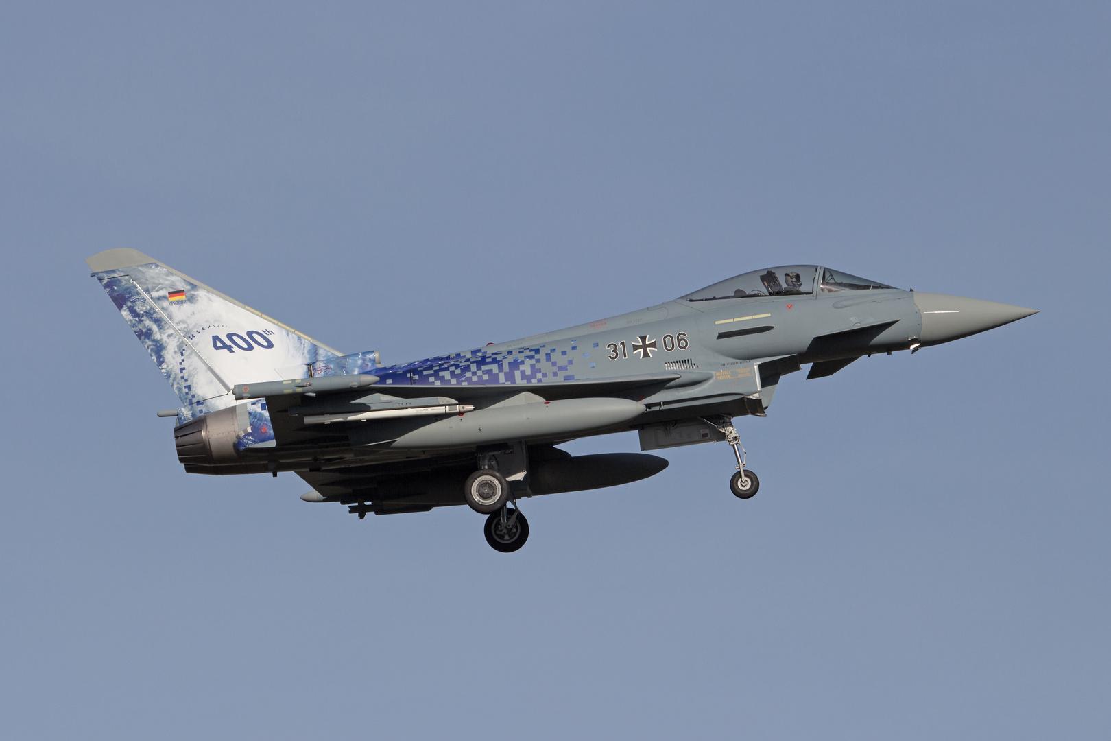 400th Eurofighter Typhoon