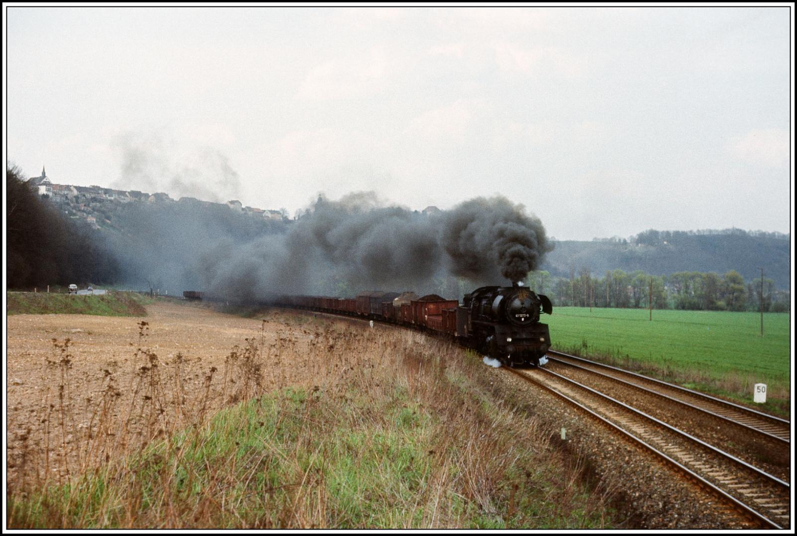 41 1273 zum 1. Mai 1984 bei Orlamünde Kilometer 50,0