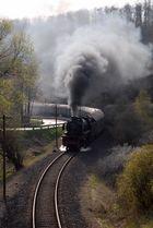 41 360 mit Grenzlast auf der Eifelquerbahn