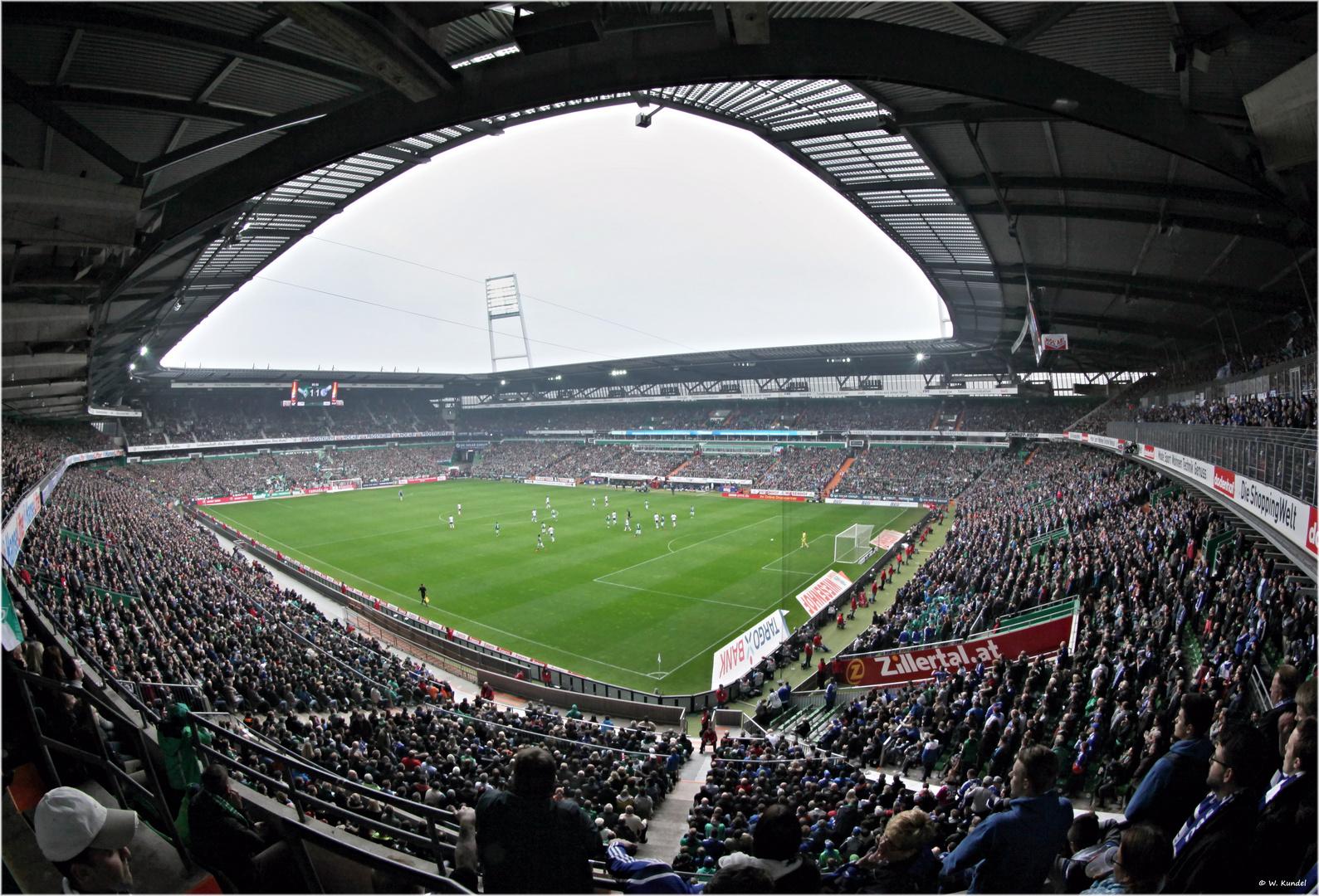 42000 draufgehalten - im Weserstadion
